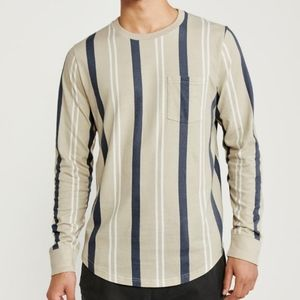 Abercrombie men's long-sleeve shirt XL